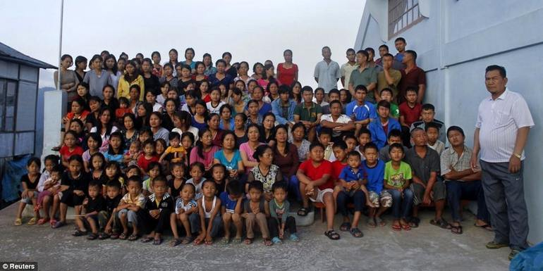 Worlds largest family