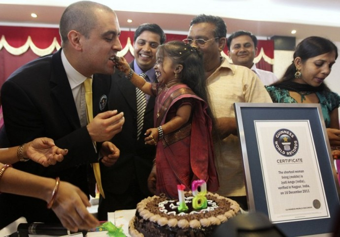 The smallest woman: Jyoti Amge