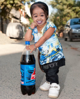 The smallest woman: Jyoti Amge