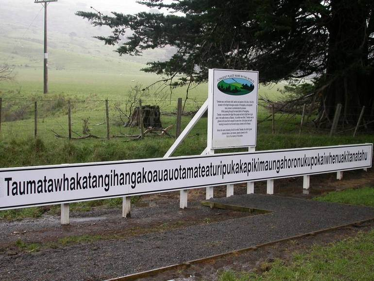 Worlds longest place name