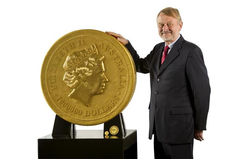 Worlds Biggest Coin