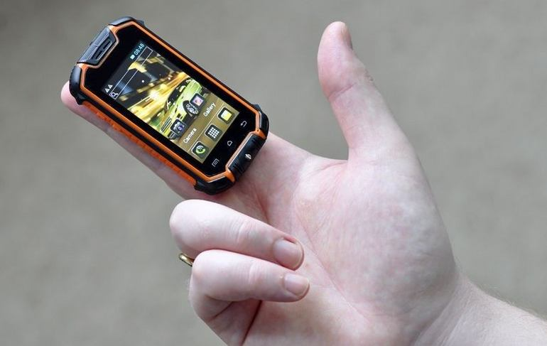 The world's smallest Android phone: Mini Nano Rugged Mobile Phone