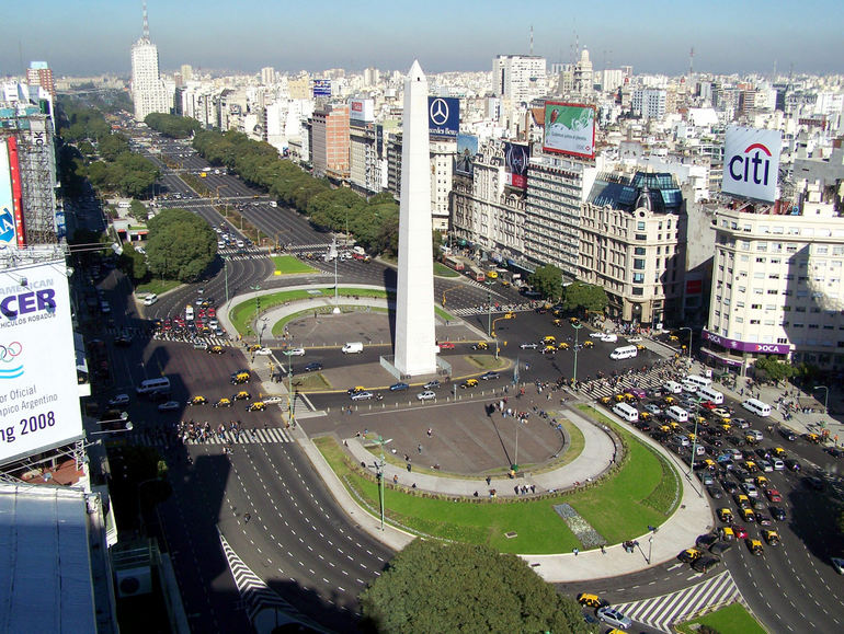The Widest Avenue in the World: July 9 Avenue