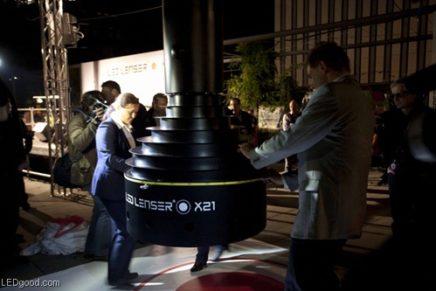 Worlds Largest Flashlight