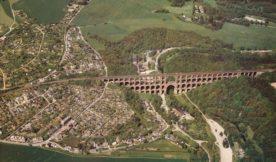 The largest brick built bridge in the world: Goltzsch Viaduct