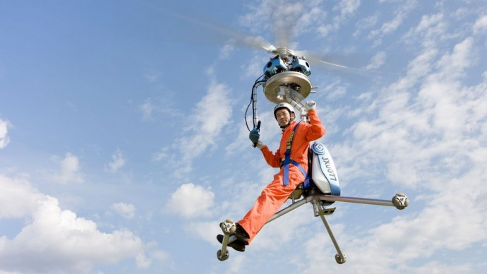 The Smallest Helicopter In The World: GEN-H4