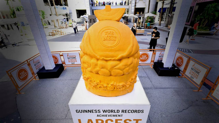 Largest Cheese Sculpture