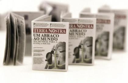 Smallest Newspaper in the World: Terra Nostra